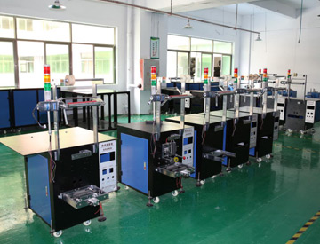 Years short foot process equipment packaging equipment